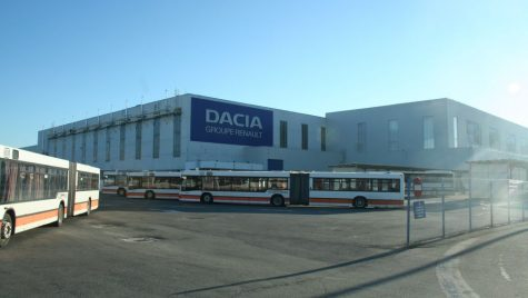 Uzina Dacia extinde gradul de automatizare