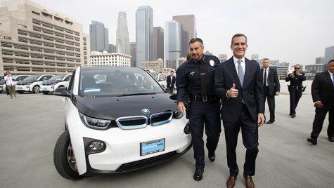BMW i3 pentru LAPD