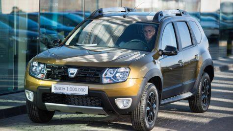 Dacia Duster cu numărul 1 milion, livrată azi în România