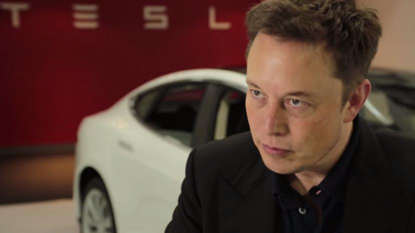 Elon Musk Tesla Model 3