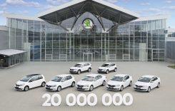 Skoda a produs automobilul cu numărul 20 de milioane