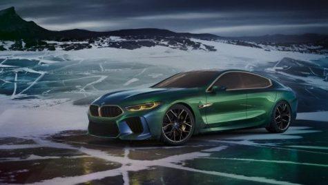 Geneva 2018: BMW Concept M8 Gran Coupe, noua imagine a luxului bavarez