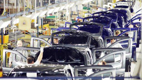 Industria auto, pondere de 13% în formarea PIB