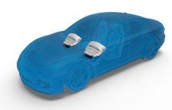ZF Friedrichshafen produce cel mai uşor modul de airbag pentru genunchi