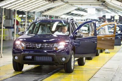 ACAROM: Producţia Dacia a urcat în primele patru luni la 111.536 vehicule