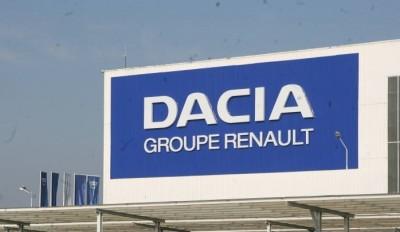 Creştere de producţie în ianuarie 2019 la uzina Dacia