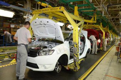 producţia de autoturisme