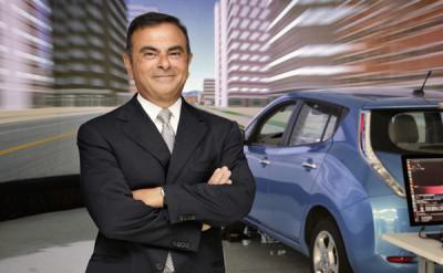 Carlos Ghosn, preferatul acţionarilor la conducerea Renault