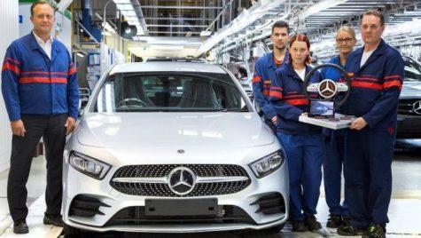 Valmet Automotive începe producţia noului A-class