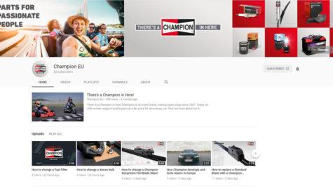 Champion lansează un canal de YouTube cu tutoriale şi sfaturi