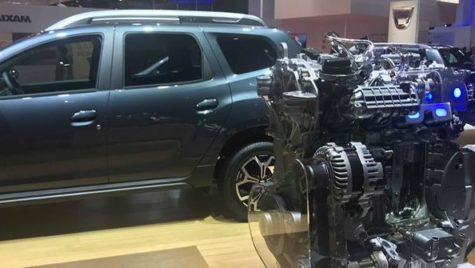 Salonul Auto de la Paris. Noul motor pentru Dacia Duster