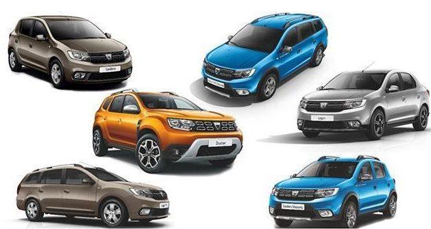 producţia uzinei Dacia