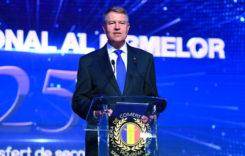 Preşedintele Iohannis: Industria auto, vector principal în transformarea economiei