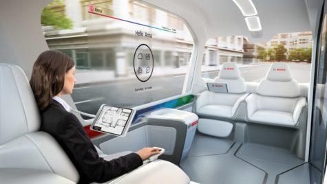 La CES 2019, Bosch a adus autovehiculul concept de tip shuttle