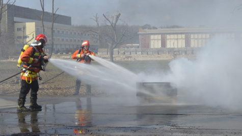 Continental înfiinţează o echipă de pompieri la Timişoara