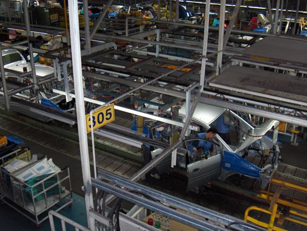 productie auto