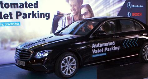 Tehnologie Daimler – Bosch pentru sistemul AVP, parcarea automată cu valet