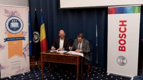 Bosch semnează un nou parteneriat strategic cu Universitatea Babeş-Bolyai din Cluj