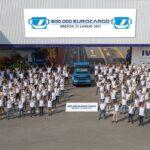 Camionul IVECO Eurocargo cu numărul 600.000 a ieșit pe poarta fabricii din Brescia